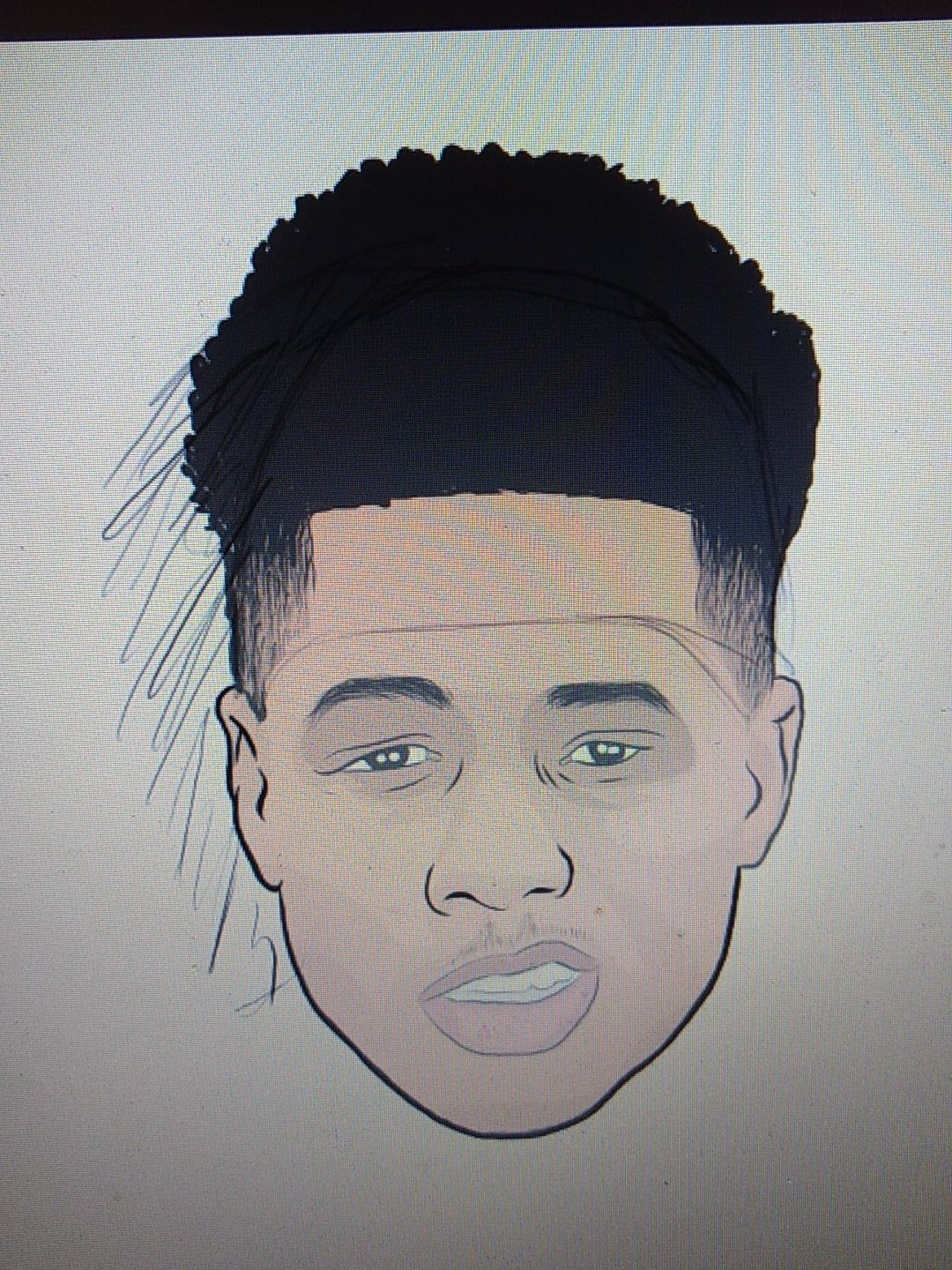 Your Art Plug On Twitter Always Sketching Sketch Art Artist Illustration Illustrator Hair Fashion Artsy Cartoon Toon Head Sketching Smile Grin Fade Haircut Rap Rapper Mustache Facialhair Shave Afro Design Graphics Graphicdesign