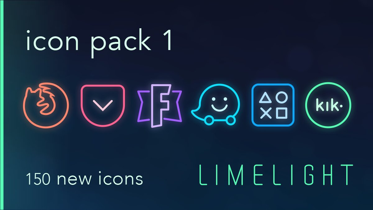 [Update] Limelight Icon Pack 1 is now live on Cydia! 150 new icons  // repo:  http:// ramenrepo.github.io  &nbsp;   #jailbreak #anemone<br>http://pic.twitter.com/o4mHNXICYH
