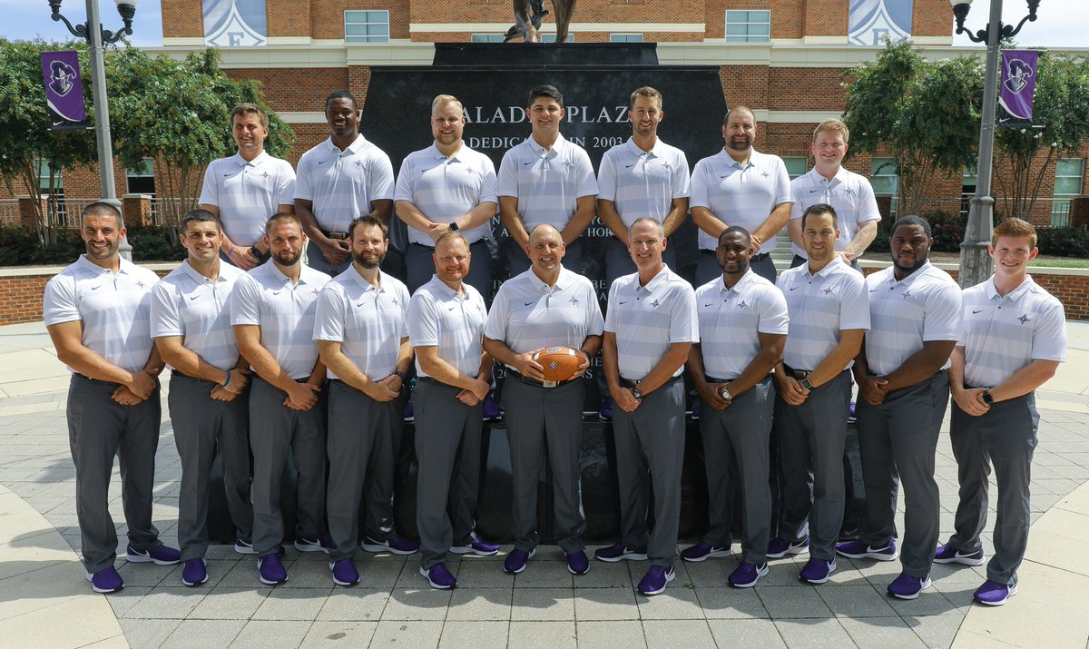 2018 Furman Paladins Coaching Staff! <br>http://pic.twitter.com/sXGGBW5GOv