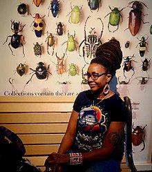 Shuri will get her own @Marvel #Shuri Comic and @Nnedi Okorafor will write it! Find her work #toronto&#39;s @ADFRNTBooklist:  https://www. adifferentbooklist.com/?searchtype=ke yword&amp;qs=nnedi+okorafor&amp;qs_file=&amp;q=h.tviewer&amp;using_sb=status&amp;qsb=keyword &nbsp; …  #Afrofuturism #BlackPanther #Scifi<br>http://pic.twitter.com/A1PklAIHTI