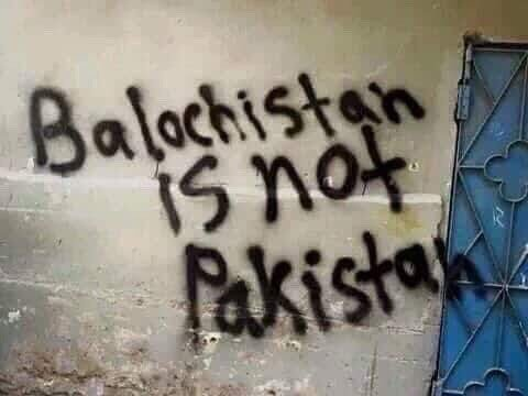 #14AugustBlackDay: The message is loud and clear. Pakistan should leave #Balochistan. Because #BalochistanIsNotPakistan <br>http://pic.twitter.com/kK3VzBbXjk
