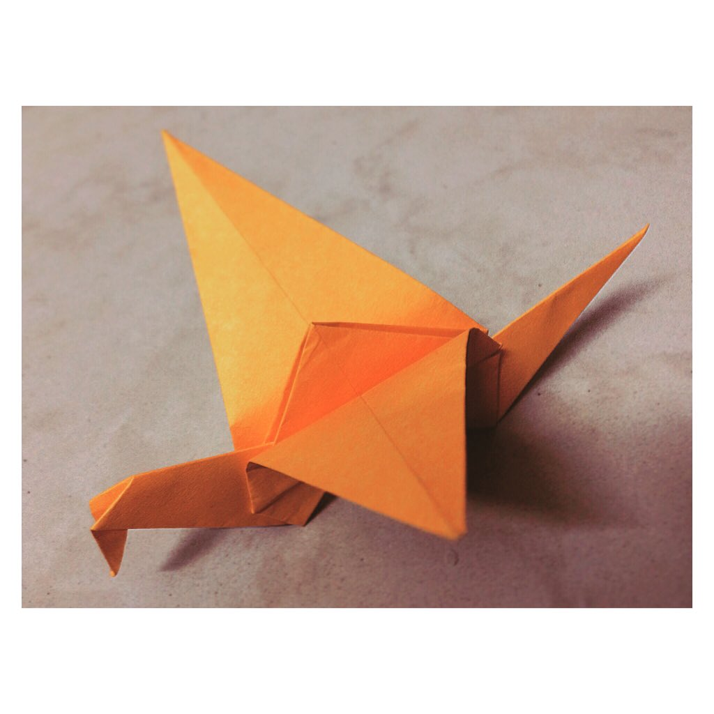 Paper Crane - How to make Paper Crane With Flapping Wings - YouTube | 1024x1024