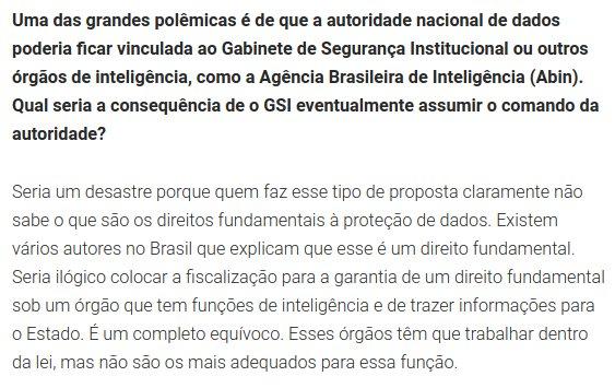 Brasil deixa de receber informações de MPs estrangeiros por falta de lei de dados, diz procurador da República Carlos Bruno. Lei será sancionada hoje. Entrevista: https://t.co/gXqgfy7qLw