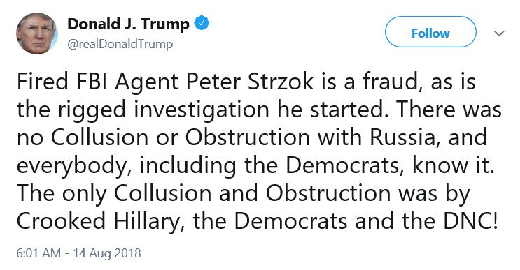 &quot;The Democrats are the real colluders&quot; has become a regular Trump-Republican talking point. It&#39;s worth pointing out how nonsensical it is. Its &quot;basis,&quot; according to Sarah Sanders, is that Christopher Steele used Russian sources to get information on alleged Trump collusion. <br>http://pic.twitter.com/hvCYAzbz34