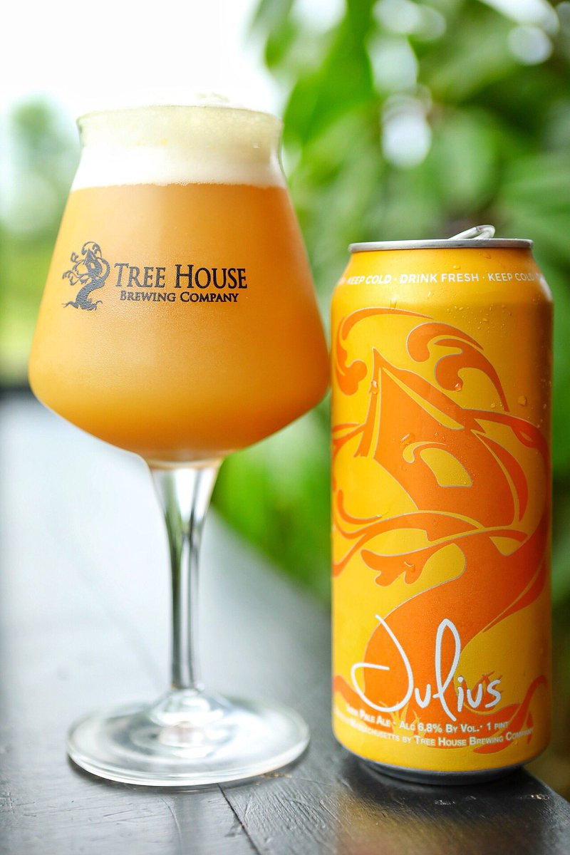 Danger! I've been told to expect it.   The juice is fresh for you today &amp; boy is it delicious!! Mango gummies, citrus juice, peach, &amp; juicy fruit gum notes contribute to the melange of complex flavors presented in our flagship American IPA.   Case limit.   http:// Treehousebrew.Com/on-tap  &nbsp;  <br>http://pic.twitter.com/oQWBwxwvxX