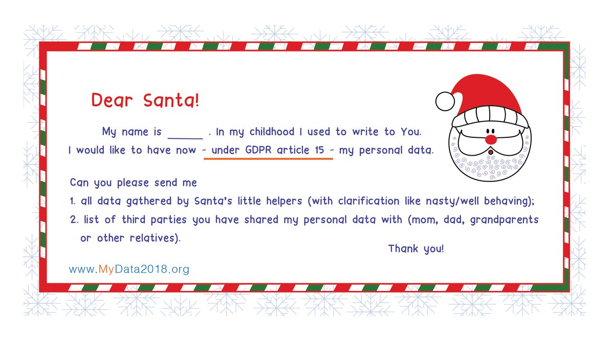 Mydata Org On Twitter Santa Claus Has Received 17 Million Letters From 200 Countries Since 1985 You Can Also Write A Letter To Him Santa S Address Is Santa Claus Santa Claus Main Post