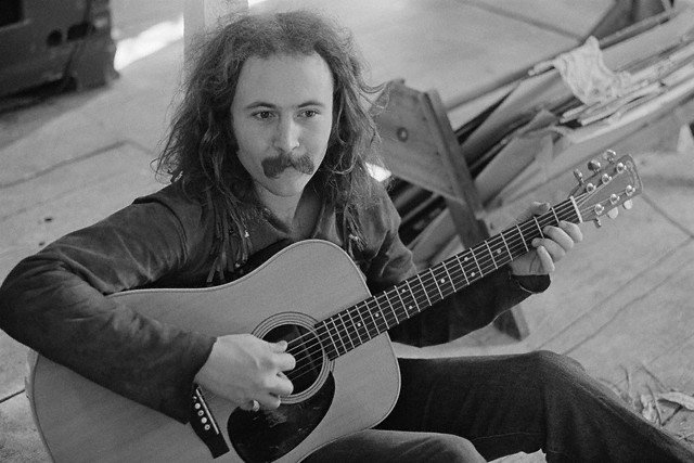 . Happy birthday to Rock and Roll Hall of Famer, David Crosby!