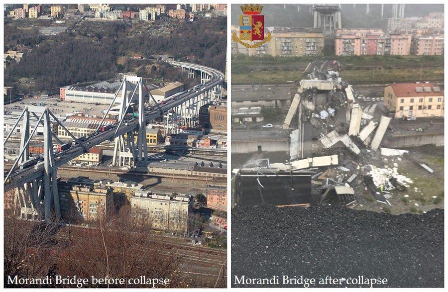 🔴 Effondrement du #Viaduc de #Genova : Le bilan toujours provisoire s'élève désormais à 35 morts, 22 blessés et 10 portés disparus