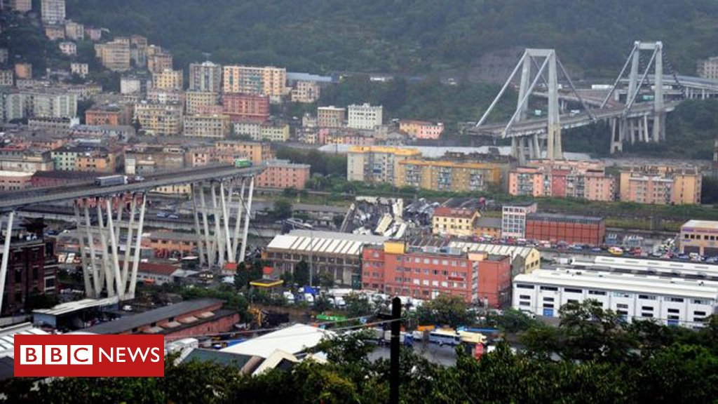 At least 22 people killed after collapse of motorway bridge in Genoa, Italian minister says  Latesthttps://t.co/hesyowfkzD: