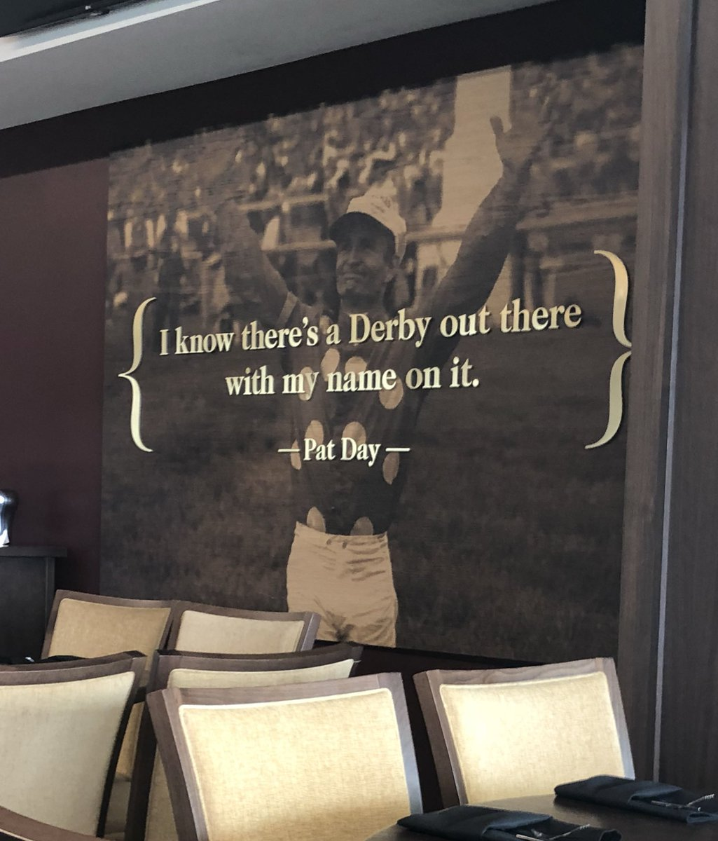 test Twitter Media - Every time I go upstairs to watch morning breezes with @bradcoxracing @ChurchillDowns this quote makes me pause. I feel the same way as Pat Day and refuse to believe otherwise (I'll settle for a starter first!). 24 day countdown until @keenelandsales Sept! https://t.co/eunmLEs5K8