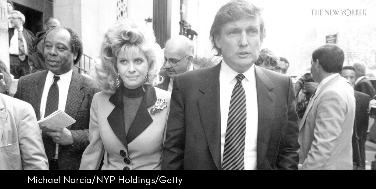 For his 1993 book, Harry Hurt III acquired Ivana's divorce deposition, in which she stated that Trump raped her: https://t.co/UyY2wst5Gv