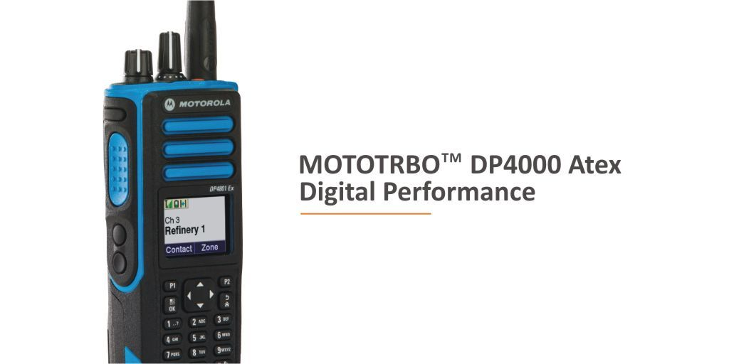 #TRBOTuesday - What are the benefits & specifications of the @MotSolsEMEA MOTOTRBO DP4000e ATEX Series Digital #Twowayradios. Find out here https://t.co/UNmwB0dNgT  #mototrbo #godigital #atex #morethanjustavoice #resilientsystem #heretosupportyou
