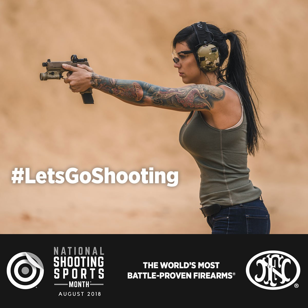 Help us celebrate National Shooting Sports Month by hitting the range with friends and family! Visit this link to find a special event near you,  https://www. letsgoshooting.org / &nbsp;   | #LetsGoShooting #NSSM @LetsGoShootUSA @NSSF<br>http://pic.twitter.com/s7ekwxrjWZ