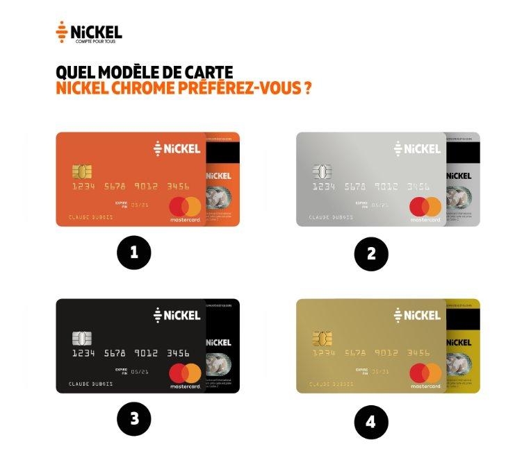 Carte Nickel Chrome Sans Contact.Nickel On Twitter Selon Notre Dernier Sondage Une