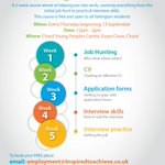 We only have 10 places left on our 5 week course in Chard! If you are a Yarlington Housing #resident contact us to book your FREE place. Email: employment@inspiredtoachieve.co.uk or call Nicki on 01935 404075. #i2a #work #employment #support @yarlingtonhg