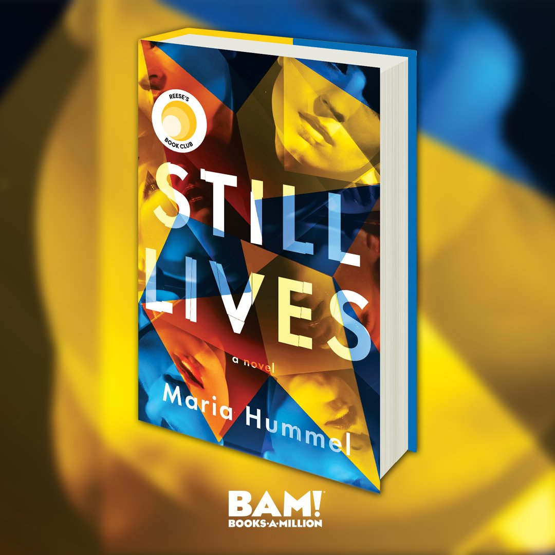 #ReeseBookClub Pick! Its a thrilling mystery that will leave you wondering which characters you can and cant trust. Theres a twist at the end that still keeps us up at night, its THAT good. Find STILL LIVES online now at #BooksAMillion. bit.ly/2KQhM41