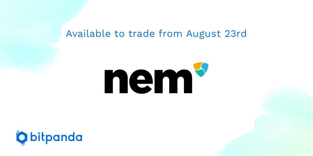 We are very happy to announce that one of the partners of the @PantosIO project is coming to the Bitpanda platform! @NEMofficial trading will start from August 23rd #bitpanda #nem $nem $pan