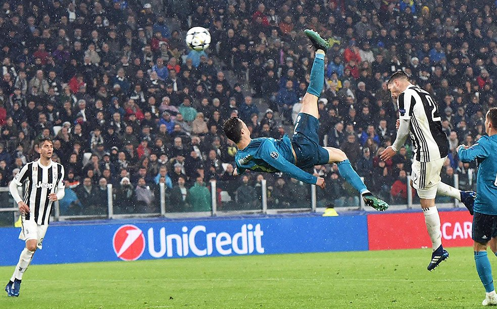 Chilena de Cristiano a la Juve, favorita para gol del año https://t.co/rEjTwzdyHy https://t.co/JcmgvsPInW