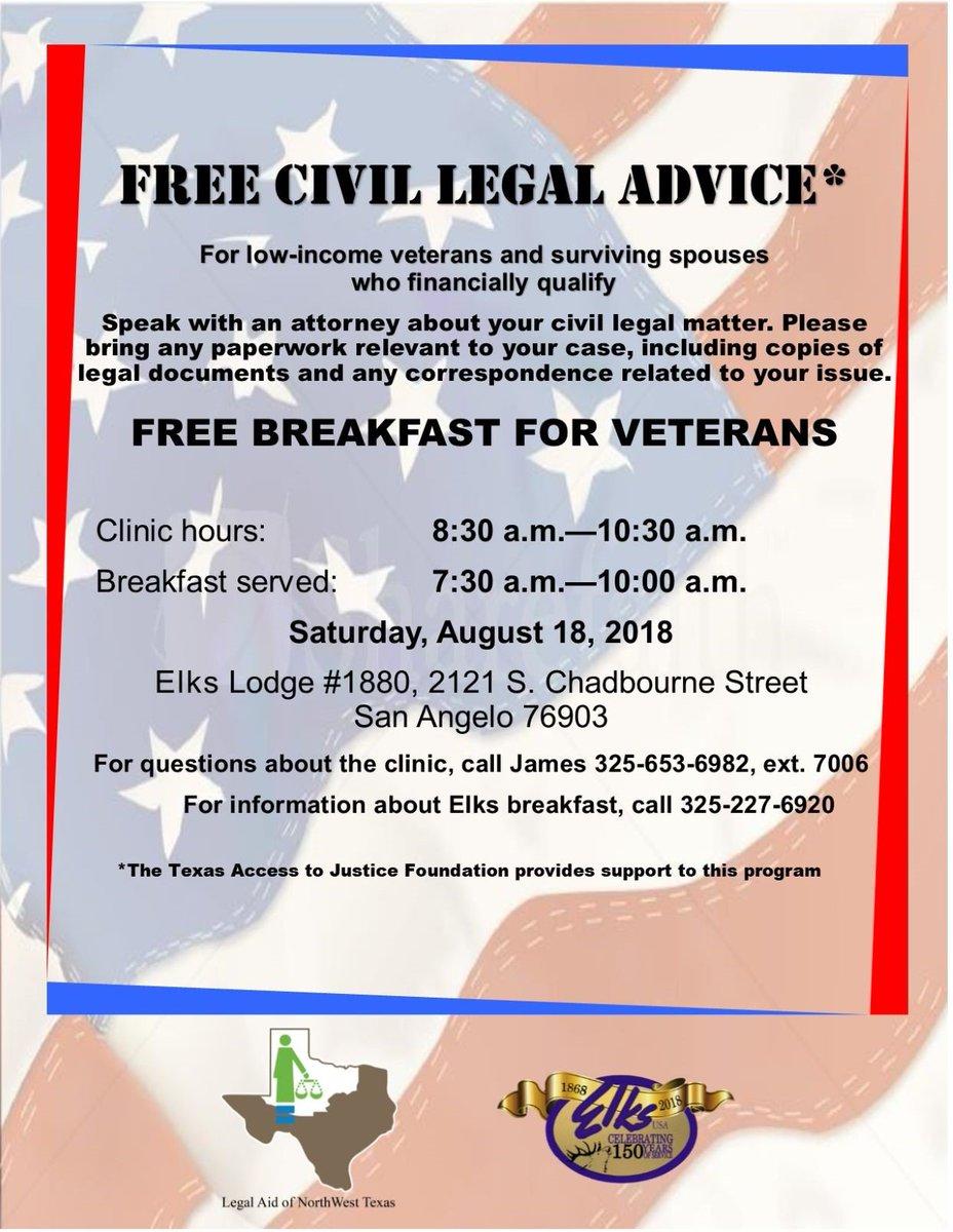 Legal Aid NW Texas On Twitter Free Civil Legal Clinic This - Texas legal documents