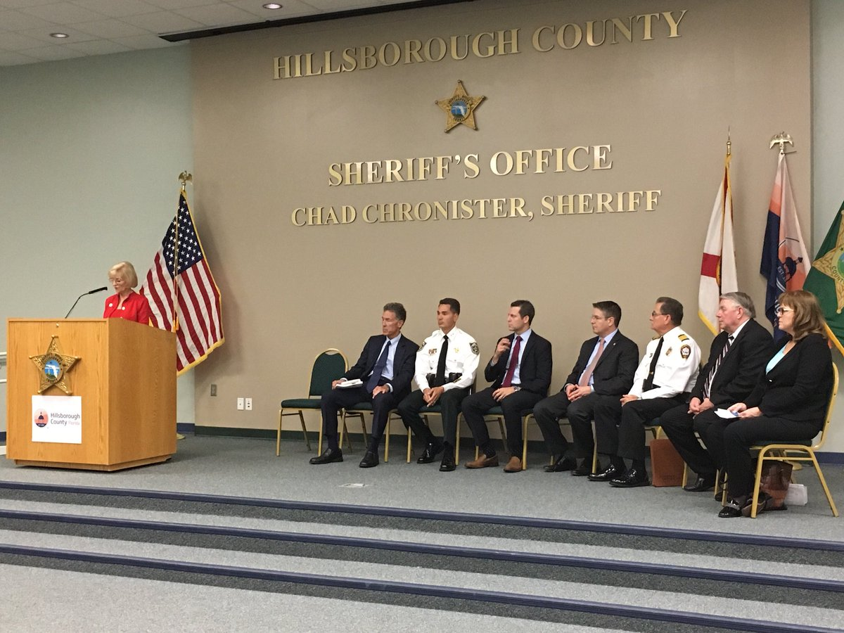 Hillsborough County officials are announcing the details of a lawsuit against drug companies for their role in the opioid addiction crisis. Fourteen companies are named in suit. Background in @TB_Times here:  https://www. google.com/amp/s/www.tamp abay.com/news/politics/Hillsborough-tops-in-state-for-drug-addicted-babies-will-file-suit-against-opioid-makers_170778147%3ftemplate=amp &nbsp; … <br>http://pic.twitter.com/RnTtRXQv81