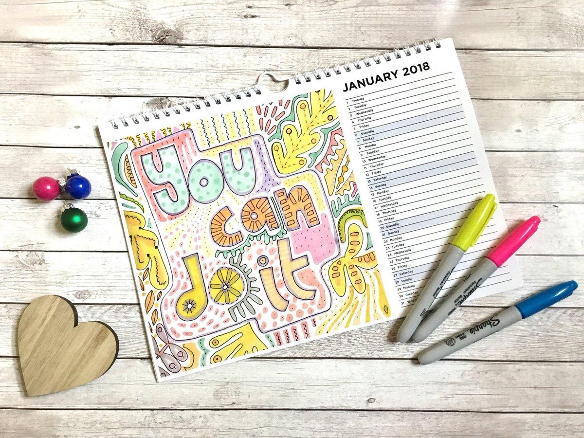 Calendar Design Quote : Calendar january motivation poster quote illustration stock