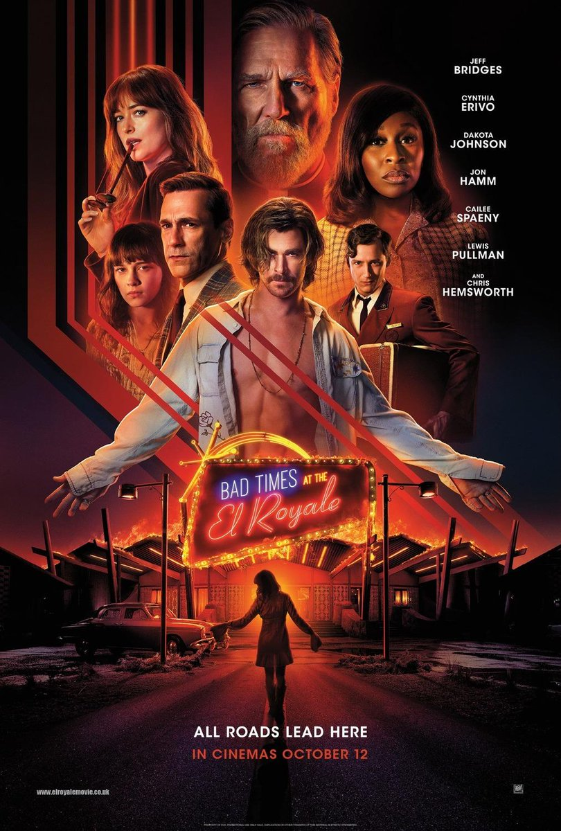 All roads lead to the El Royale <br>http://pic.twitter.com/lXvyaUy8fT