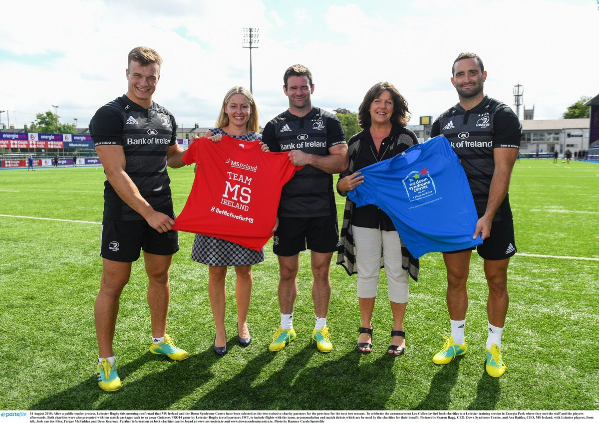 Everyone at MS Ireland is absolutely thrilled to be selected as one of @leinsterrugby charity partners for the next 2 seasons! To celebrate we are giving away 4 pairs of tickets to this Friday&#39;s game vs Newcastle Falcons!RT this post to enter!#FromTheGroundUp #TeamMSIreland<br>http://pic.twitter.com/90x2L53UYm