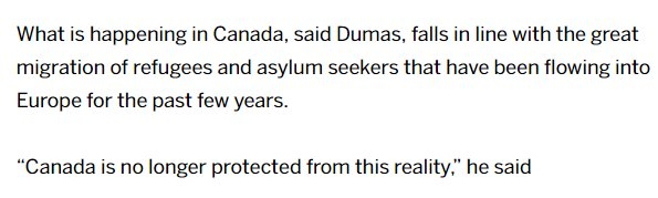A federal official says we now have European-style border migration in Canada.  https:// ottawasun.com/news/local-new s/cornwall-designated-as-backup-centre-for-potential-refugee-influx/ &nbsp; …  #cdnpoli<br>http://pic.twitter.com/zVbah5Zy7i