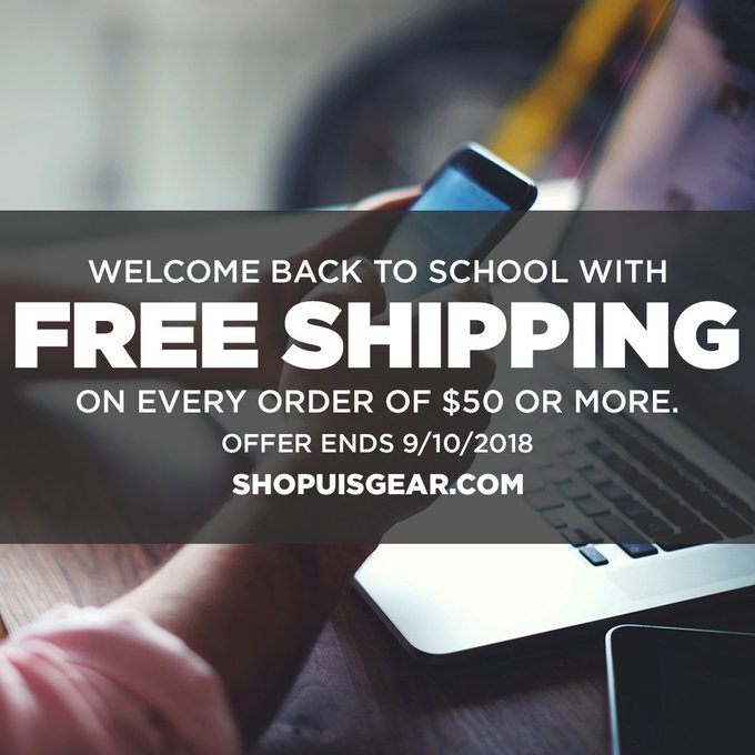 RT @UISAthletics: Head to https://t.co/iu1wMvsMXa for your Back to School needs! FREE SHIPPING starts TODAY! #WeAreStars #ProtectThePrairie…