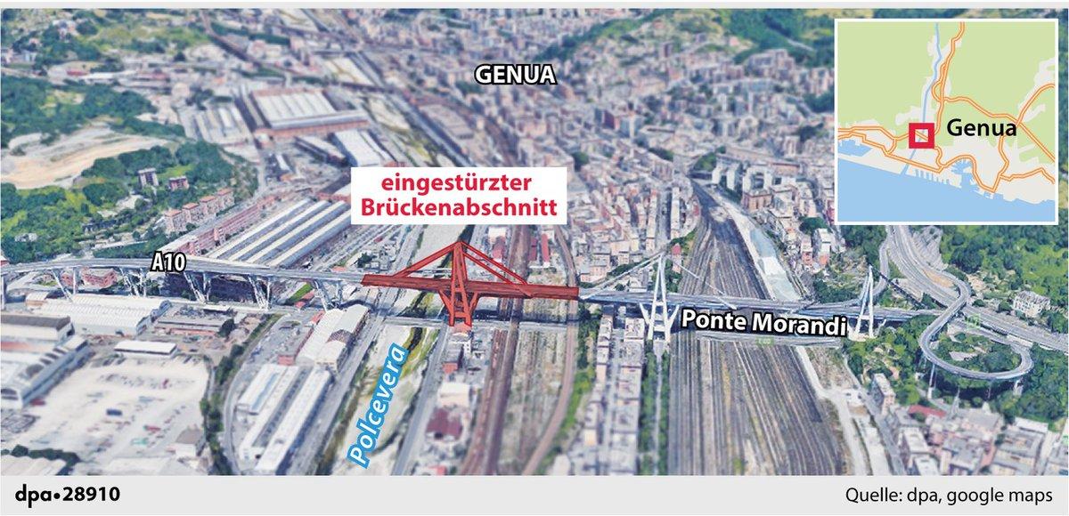 Morandi Brücke Genua
