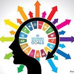 Image for the Tweet beginning: #BrainSDGs  1-No Poverty 2-No Hunger 3-Health 4-Education 5-Gender Equality 6-Water&