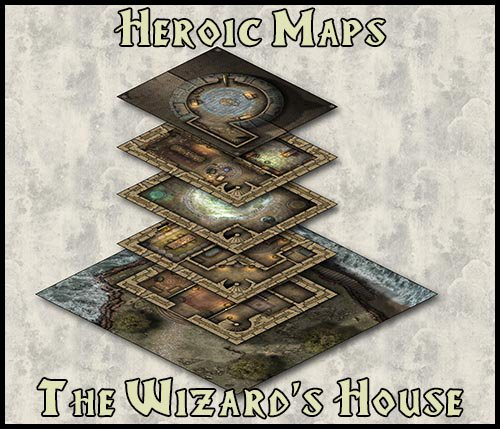 Heroic Maps On Twitter Does Your Wizard Need Somewhere To Call Home A Floor Where She Can Try Dangerous New Spells Safely New Rpg Battlemap Drivethrurpg Https T Co 6lgxanm7jt 5e Dnd Pathfinder Https T Co Qkndszyjla