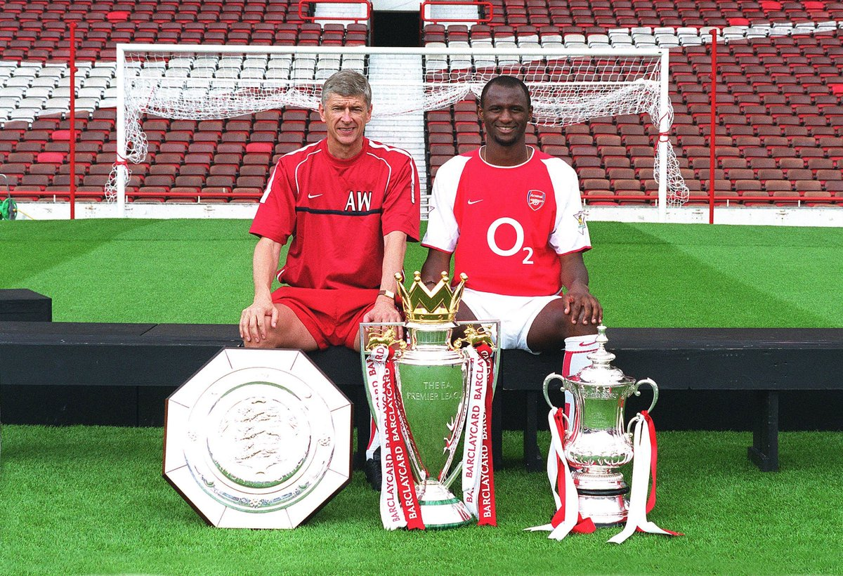 #OnThisDay 22 years ago, Patrick Vieira signed for Arsenal.  And a legend was born... 🙌🔴⚪  #AFC