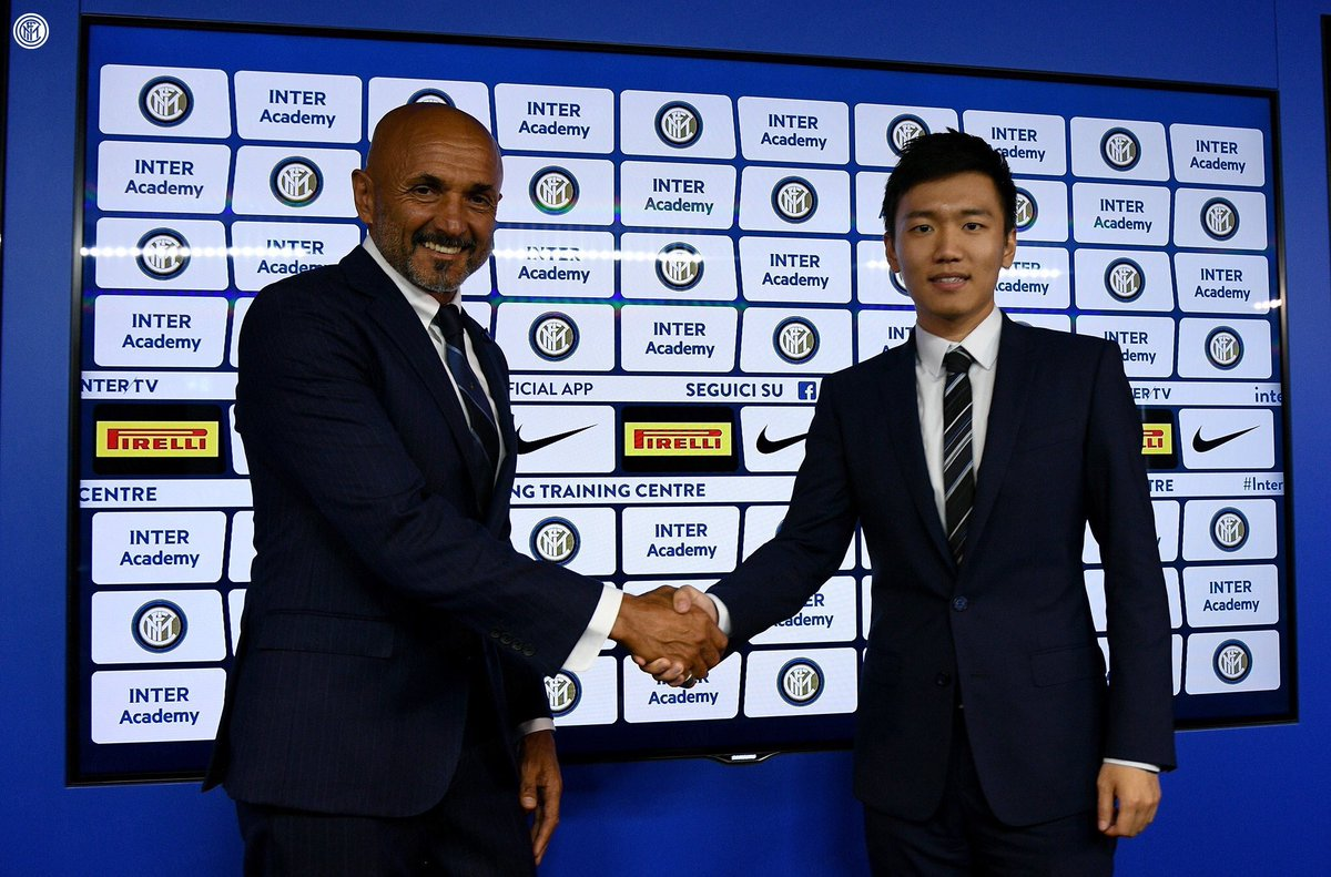 OFFICIEL ! Luciano Spalletti prolonge jusqu'en 2021 avec l'Inter Milan.