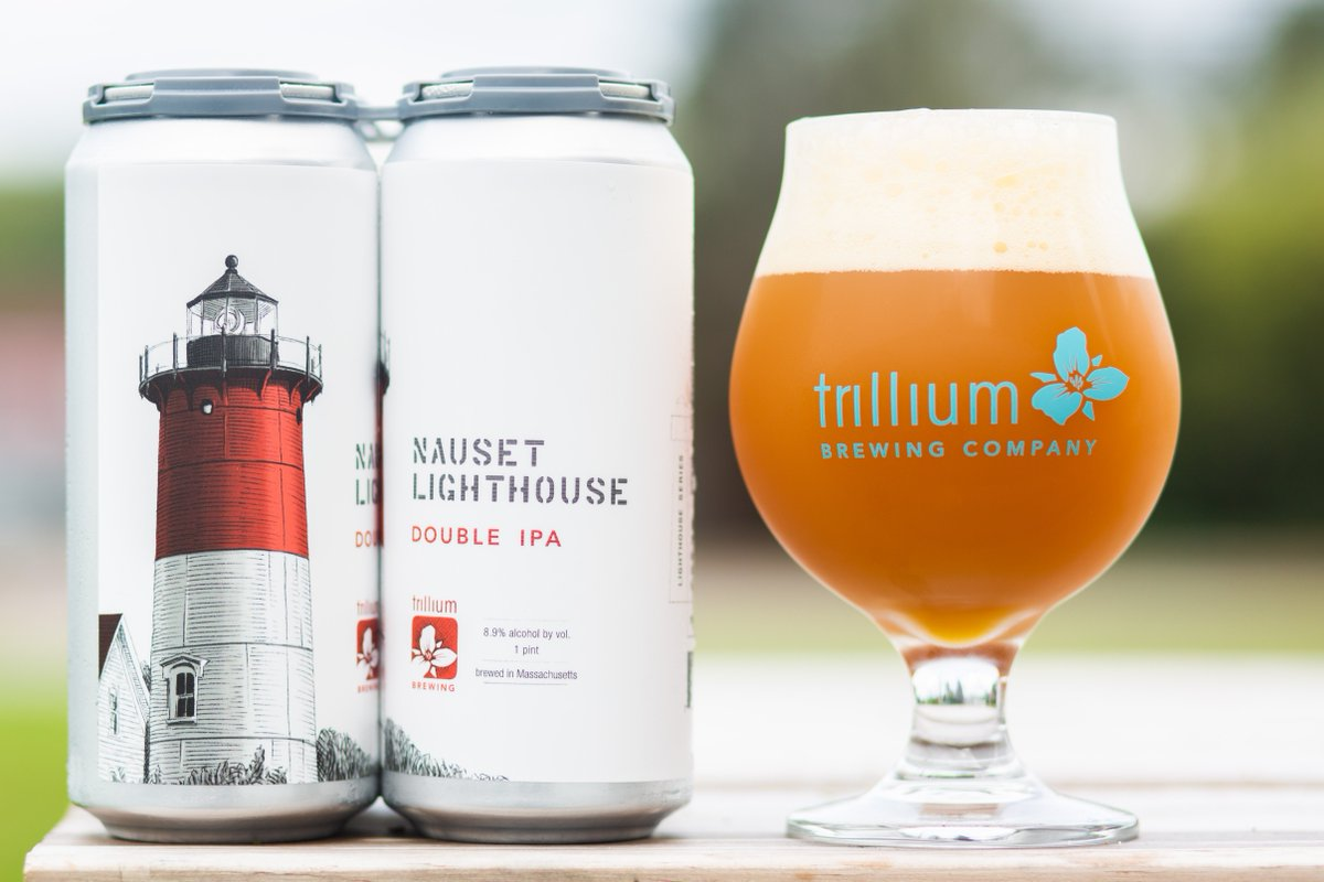 Our tour of the New England coastline continues today as we launch the Lighthouse Series. Learn more about Nauset Lighthouse Double IPA and pick it up at both breweries (limit 1 case pp - $20.20 per 4/pk):  http://www. trilliumbrewing.com/nauset-lightho use &nbsp; … <br>http://pic.twitter.com/7v9eA4rWjx