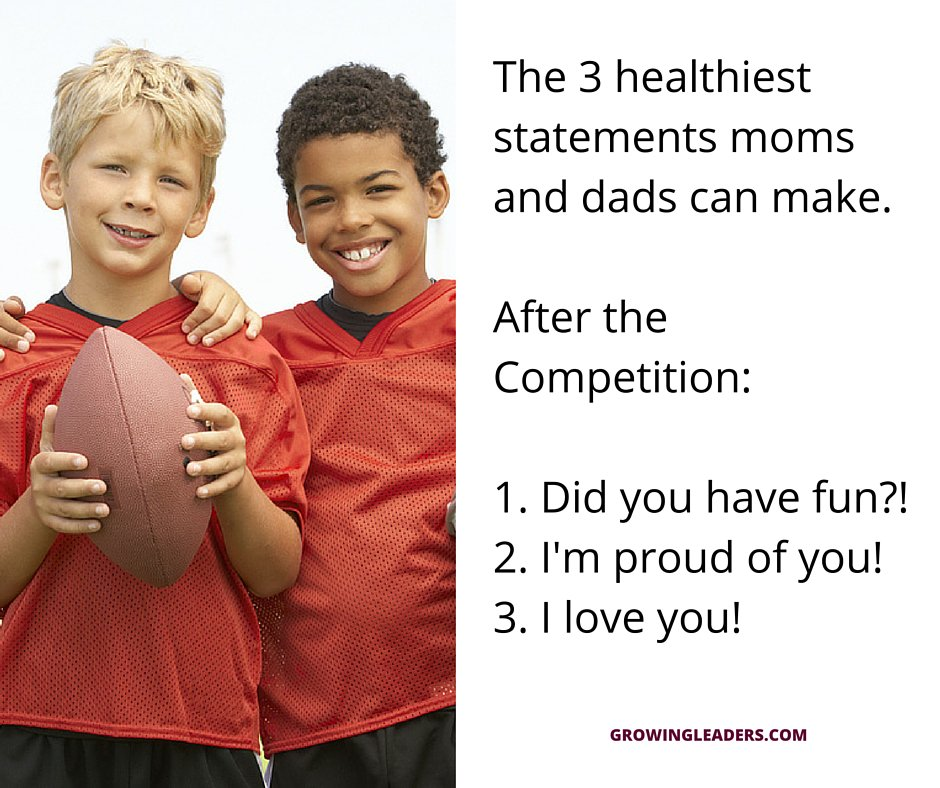 Parents, did you know these are the THREE most IMPORTANT things you can say after the #game?! Let&#39;s keep it positive! #sport #coaching  http://www. respectinsport.com  &nbsp;  <br>http://pic.twitter.com/XOqzKb52jX