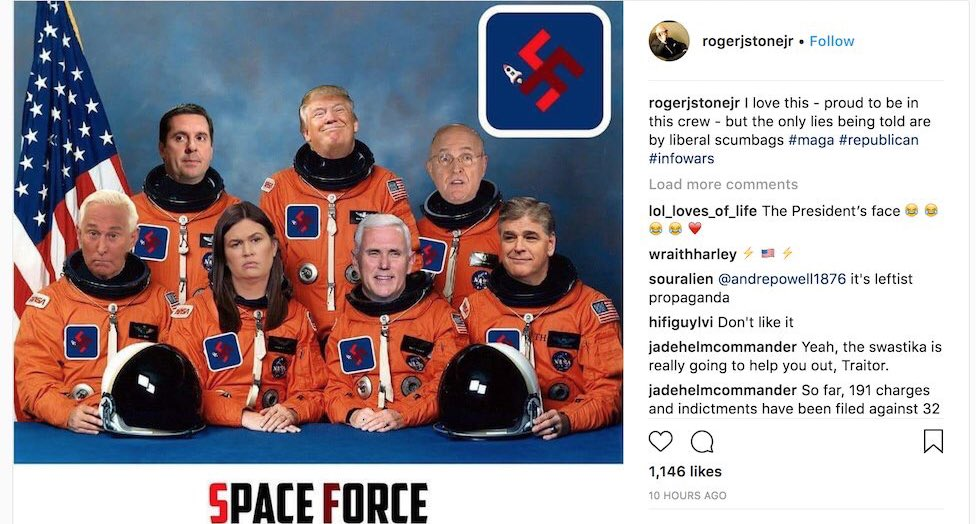 Kyle Griffin's photo on Space Force