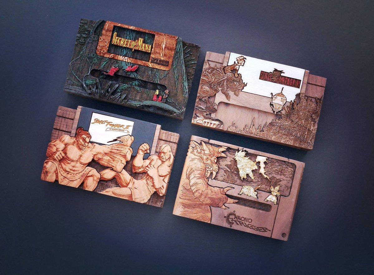 #FanArt: Wood #Nintendo Cartridges   Artist: @Pigminted<br>http://pic.twitter.com/PlfSd8p0QO