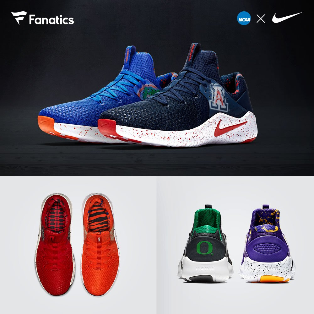931d523a8f498 Featuring the 2018 Nike Free TR8 for Women and the TR V8 for Men! Get yours  today just in time for Kickoff  http   bit.ly 2OCdiRc  pic.twitter.com 5Vo0Gnepfw