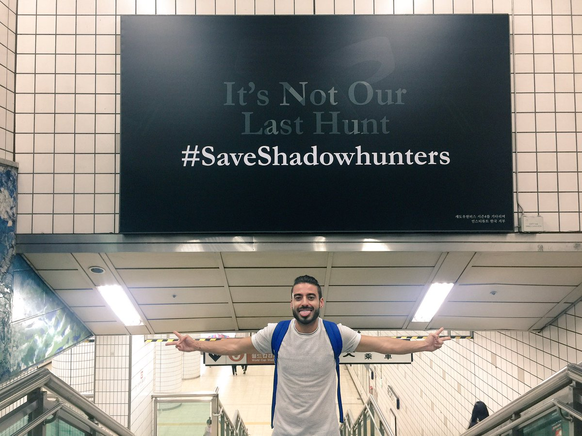 I FOUND IT!!!!!!!!!!!!!! BY ACCIDENT!!!!!!!!! #SAVESHADOWHUNTERS #NOTOURLASTHUNT AAAAHHHHHHHHHH!!!!!!!!! #Shadowhunters