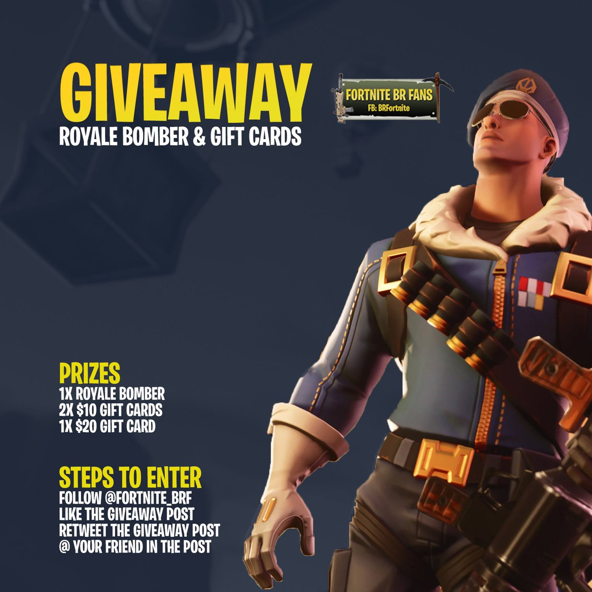 After giving away $10K on our FB page, it is time for our first Twitter giveaway!  The giveaway ends on Sunday, August 26, and we will post winners on our page. Additionally, we will try to find a way to do a LIVE giveaway so you can watch it here!   #Fortnite  #FortniteGiveaway<br>http://pic.twitter.com/kbFddt7FSb