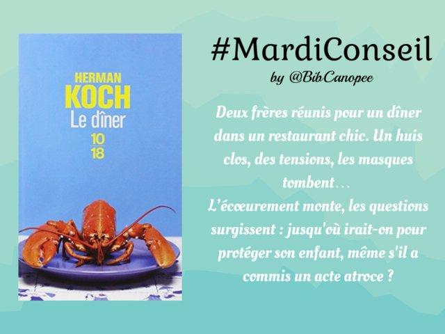 Humour grinçant au menu pour le #mardiconseil à savourer dans les #bib2paris => Photo