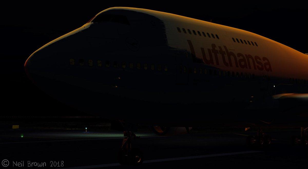 Pmdg 747 8 reflection profile