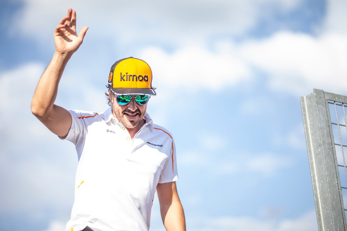 """""""After 17 wonderful years in this amazing sport, it's time for me to make a change and move on""""   @alo_oficial will leave F1 at the end of the season >>   https://t.co/4ben7din3U#F1"""