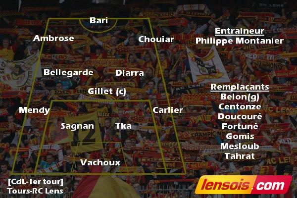 [Coupe de la Ligue - 1er Tour] Tours FC - RC Lens DkkgYa2X0AAWwnB