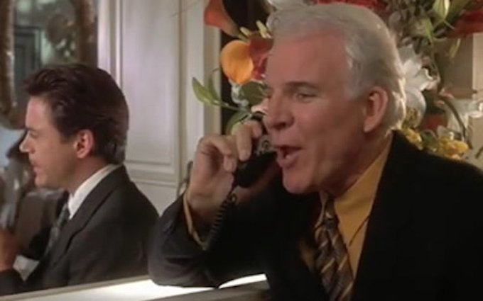 Happy birthday to Steve Martin!