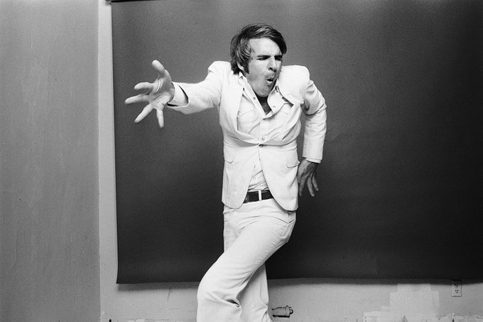 Happy birthday to Steve Martin. Photo by Norman Seeff, 1977.