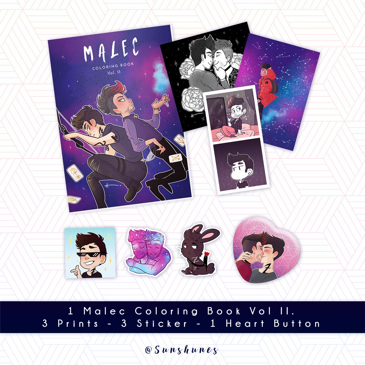 Giveaway time~!   I&#39;m happy to make finally this giveaway to thank you for all your support. It means a lot to me!   Rules:  • Follow me + RT this tweet • 1 Winner •  Shipping Worldwide • Winner announced on August 31  #Malec #Shadowhunters<br>http://pic.twitter.com/hZHtprsGNZ
