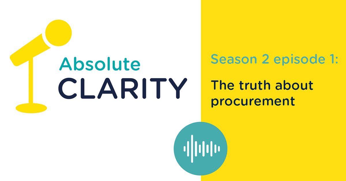 Absolute Clarity is bigger, better and brighter for season 2. Listen to episode 1 here:  https:// bit.ly/2KOtMmW  &nbsp;   #BizTravel #AbsoluteClarity<br>http://pic.twitter.com/EUlYF4FrQK