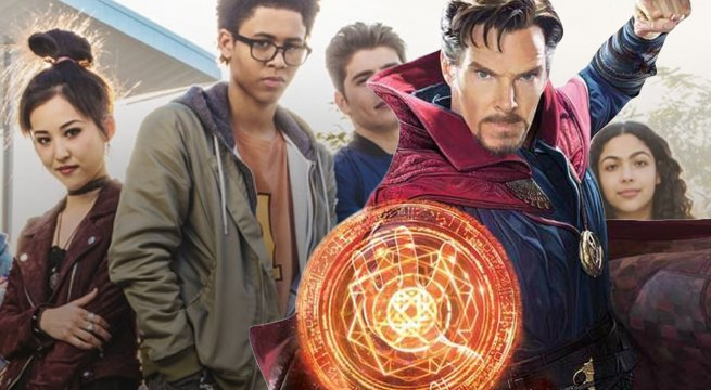 The second season of Marvel&#39;s #Runaways will begin to reveal its connection to the MCU:  http:// comicbook.com/marvel/2018/08 /14/marvels-runaways-season-2-mcu-connections/ &nbsp; …  <br>http://pic.twitter.com/4IUG596zjR